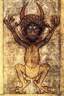 Vyobrazení ďábla v Codexu gigas