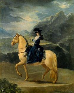 Francisco Goya - Marie Terezie Bourbonská
