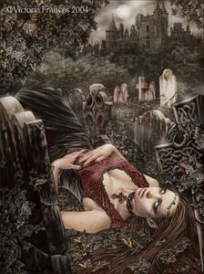 © Victoria Francés - Lecho de muerte