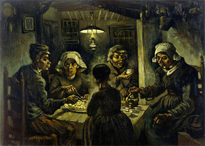 Vincent van Gogh - Jedlíci brambor