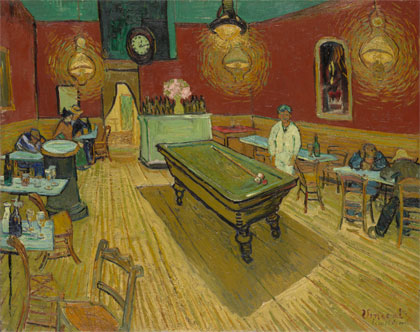 Vincent van Gogh - Noční kavárna