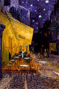 Vincent van Gogh - Terasa kavárny v noci