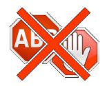Stop blokování reklam